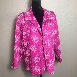 Susan Graver Pink Blazer